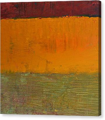 Highway Series - Grasses Canvas Print by Michelle Calkins