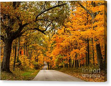 Highway To Heaven Canvas Print by Jim McCain