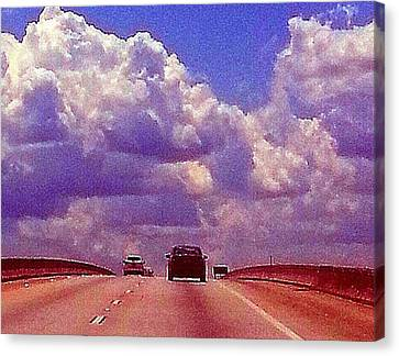 Highway To Heaven Too Canvas Print by Joetta Beauford