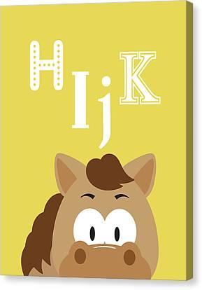 Hijk Animals Canvas Print by Tamara Robinson