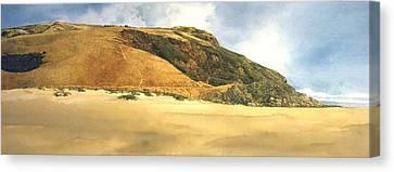 Hiker's Delight Canvas Print by Tom Wooldridge