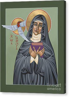 Canvas Print featuring the painting St. Hildegard Of Bingen 171 by William Hart McNichols