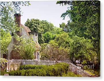 Hill Cottage Canvas Print