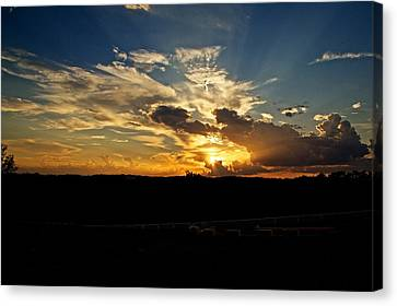 Hill Country Sunset Canvas Print