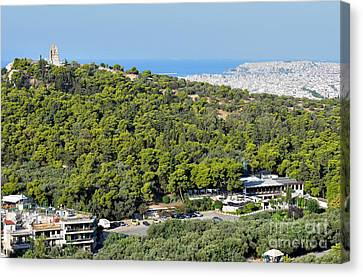 Hill Of Philopappos  Canvas Print