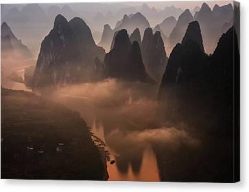 Hills Of The Gods Canvas Print