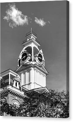 Hillsdale College Central Hall Cupola Canvas Print by University Icons
