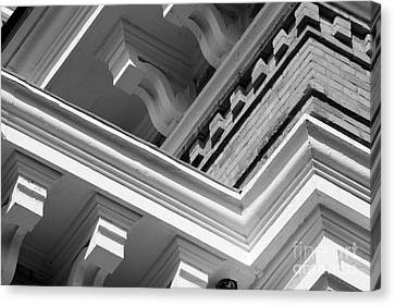 Hillsdale College Central Hall Detail Canvas Print by University Icons