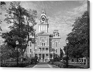 Hillsdale College Central Hall Canvas Print by University Icons