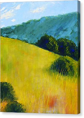 Hillside Prairie Canvas Print by Nancy Merkle