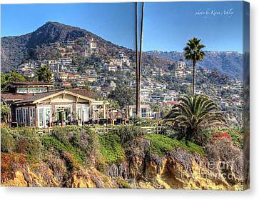 Hillside View Canvas Print by Kevin Ashley