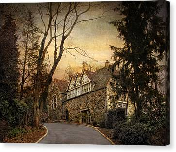 Hilltop Home  Canvas Print