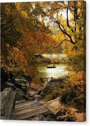 Branch Hill Pond Canvas Print - Hilltop Views by Jessica Jenney