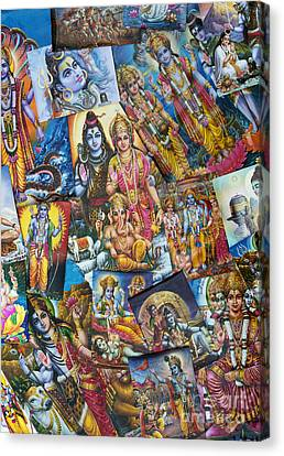 Hindu Deity Posters Canvas Print by Tim Gainey