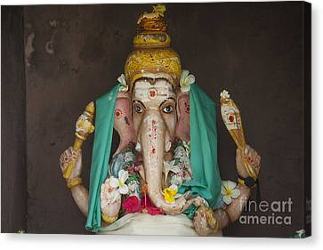 Hindu God Ganesh Canvas Print by Patricia Hofmeester