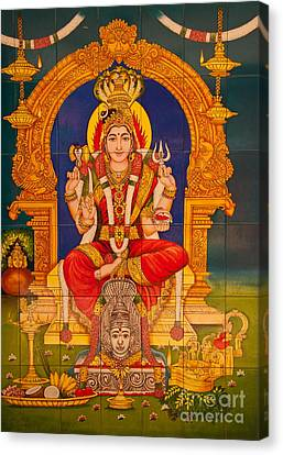 Hindu God Canvas Print
