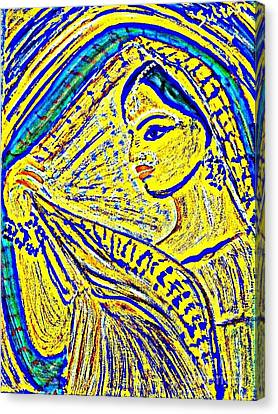 Hindu Goddess Wedding Canvas Print
