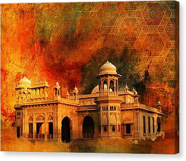Hindu Gymkhana Canvas Print by Catf