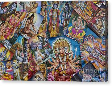Hindu Posters Canvas Print by Tim Gainey