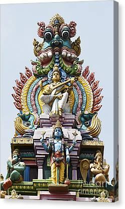 Hindu Temple Gopuram India Canvas Print