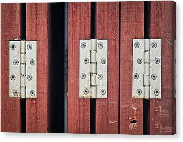 Hinges Canvas Print