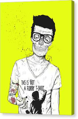 Hipsters Not Dead Canvas Print