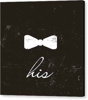 Gift For Canvas Print - His by Anna Quach