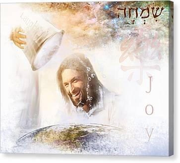 His Joy Canvas Print