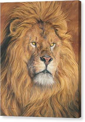 His Majesty - Detail Canvas Print by Lucie Bilodeau