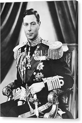 His Majesty King George Vi Canvas Print