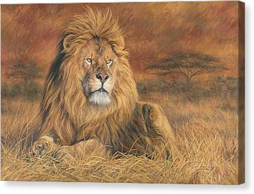 Majesty Canvas Print - His Majesty by Lucie Bilodeau