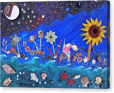His Story Canvas Print by Brenda Pressnall