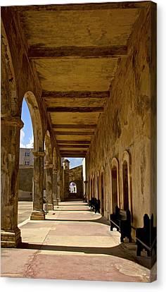 Historic Archways Canvas Print