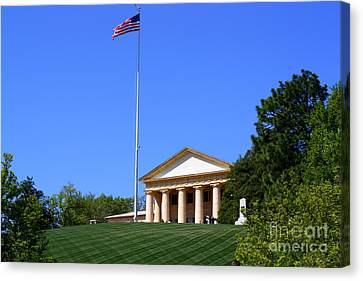 Historic Arlington House Canvas Print by Patti Whitten