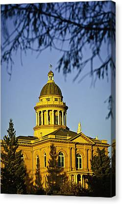 Historic Auburn Courthouse 5 Canvas Print