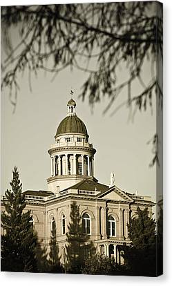 Historic Auburn Courthouse 6 Canvas Print