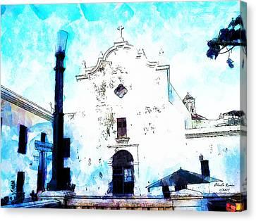 Historic Church Canvas Print