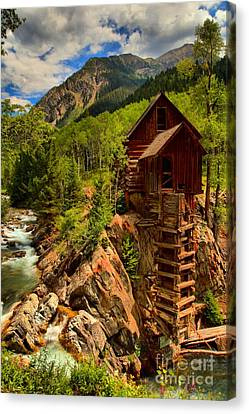 Crystal Colorado Canvas Print - Historic Colorado by Adam Jewell