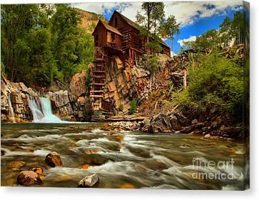 Historic Colorado Landscape Canvas Print by Adam Jewell