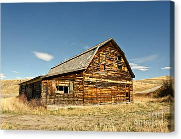 Canvas Print featuring the photograph Historic Community Hall by Sue Smith