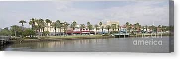 Historic Daytona Florida Pano Canvas Print
