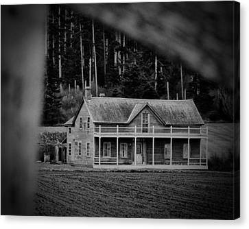 Historic Ebey's Landing Canvas Print by Winston Likert