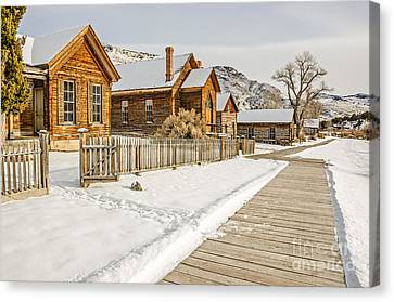 Historic Ghost Town Canvas Print by Sue Smith