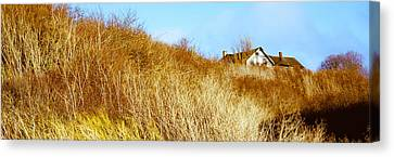 Historic Home On A Landscape, Whidbey Canvas Print by Panoramic Images