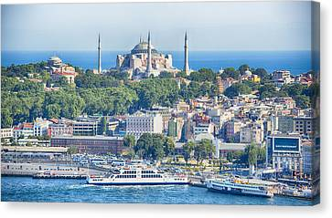 Historic Istanbul Canvas Print by Stephen Stookey