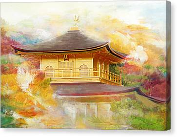 Historic Monuments Of Ancient Kyoto  Uji And Otsu Cities Canvas Print