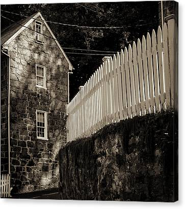 Historic Oella S Curve Canvas Print