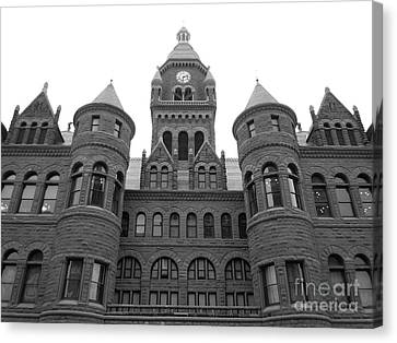 Canvas Print featuring the photograph Historic Old Red Courthouse Dallas #2 by Robert ONeil