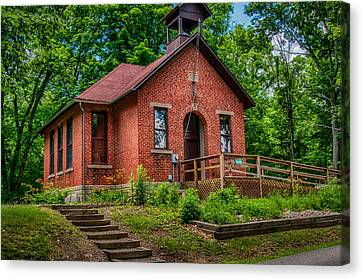Historic One Room School House Canvas Print