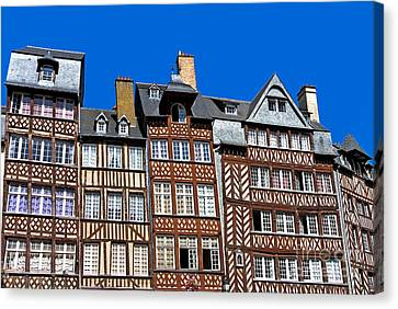 Historic Rennes Canvas Print by Jane Rix